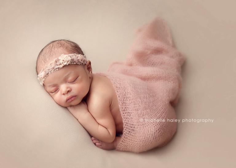 Such a beautiful newborn baby girl newborn photography atlanta