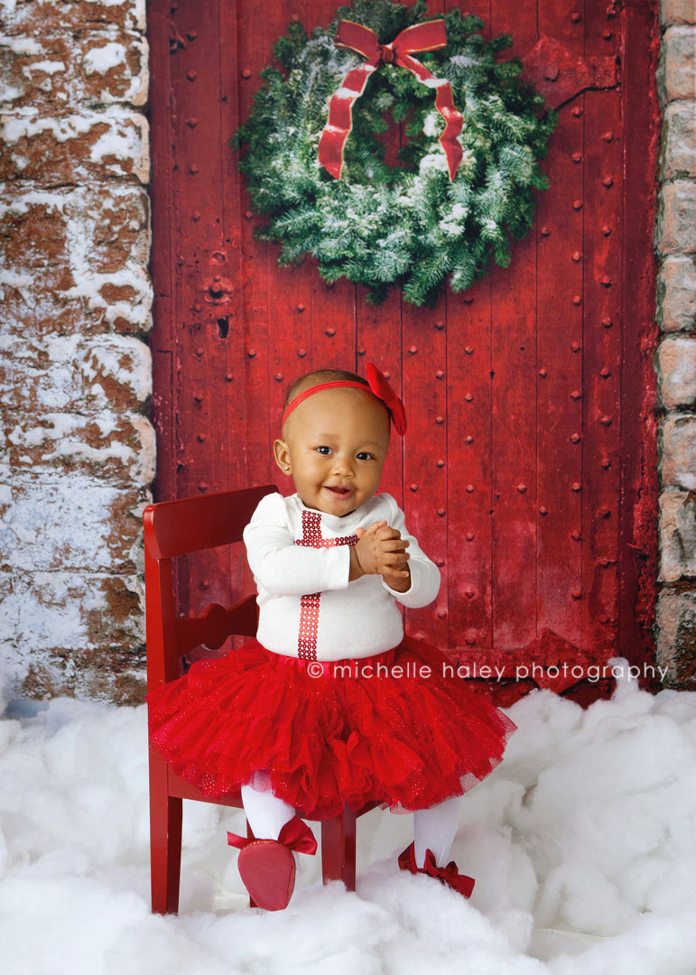 Atlanta holiday portraits