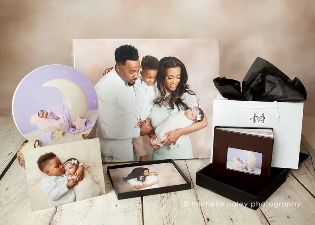 newborn pictures album
